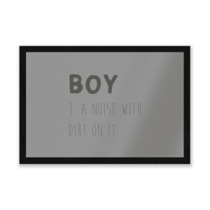 Boy Definition Entrance Mat