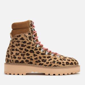 Diemme Women's Monfumo Pony Hiking Style Boots - Leopard
