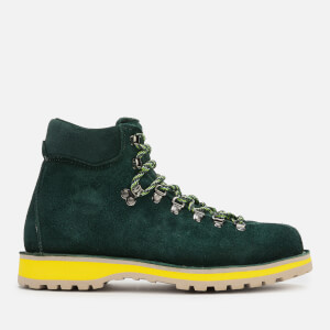 Diemme Men's Roccia Vet Suede Hiking Style Boots - Dark Green