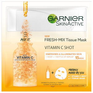 Garnier Fresh Mix Tissue Face Mask with Vitamin C 33ml