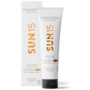 MÁDARA Beach BB Shimmering SPF15 Sunscreen 100ml