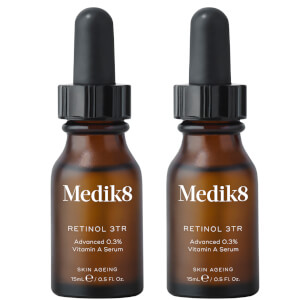 Medik8 Retinol 3TR Serum 15ml Duo (Worth $150.00)