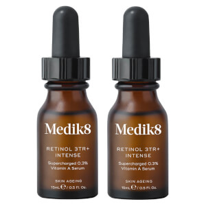Medik8 Retinol 3TR+ Intense 15ml Duo (Worth $164.00)