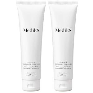 Medik8 Surface Radiance Cleanser 150ml Duo (Worth $88.00)