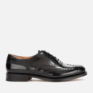 Church's Men's Burwood Polished Leather Brogues - Black
