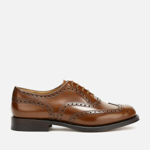 Church's Men's Burwood Polished Leather Brogues - Sandalwood