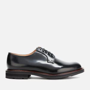 Church's Men's Woodbridge Polished Leather Derby Shoes - Black