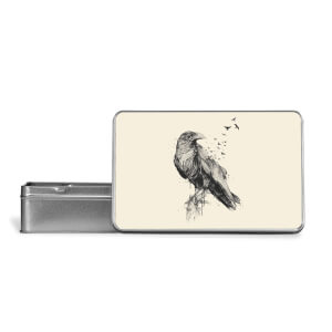 Birds Flying Metal Storage Tin
