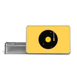 Music Everywhere Metal Storage Tin