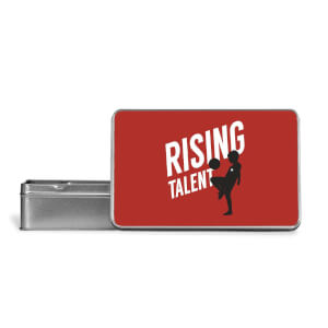 Rising Talent Metal Storage Tin