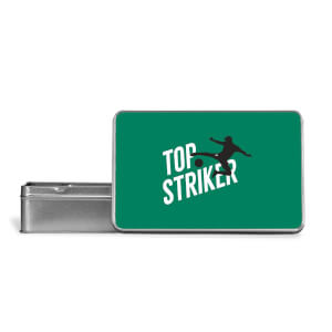 Top Striker Metal Storage Tin