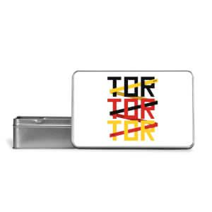 TOR TOR TOR Metal Storage Tin