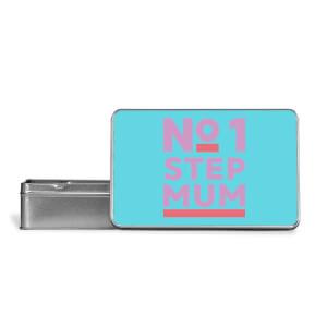 No.1 Stepmum Metal Storage Tin