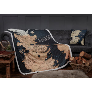 Game of Thrones Westeros Sherpa Blanket