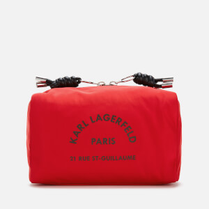Karl Lagerfeld Women's Rue St. Guillaume Wash Bag - Red