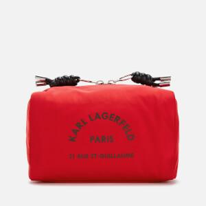 Karl Lagerfeld Women's Rue St. Guillaume Wash Bag - Red