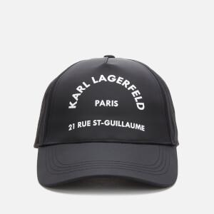 Karl Lagerfeld Women's Rue St. Guillaume Cap - Black