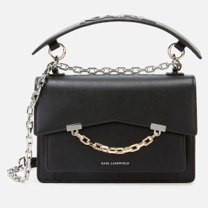 Karl Lagerfeld Women's K/Karl Seven Shoulder Bag - Black