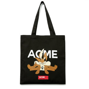 Looney Tunes ACME Capsule Wile E. Coyote Tote Bag - Black