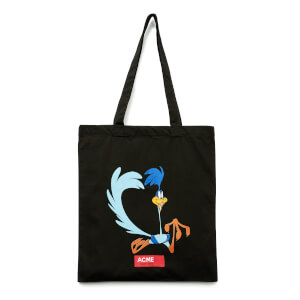 Looney Tunes ACME Capsule Road Runner Tote Bag - Black