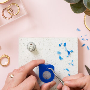Personalised Ring Making Workshop with Prosecco at Posh Totty Designs