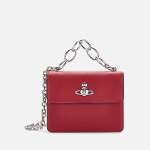 Vivienne Westwood Women's Florence Medium Bag With Flap - Red