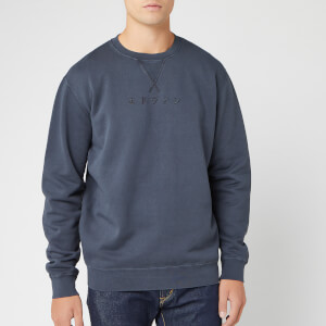 Edwin Men's Katakana Sweat - Ebony