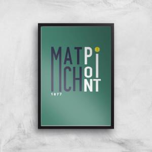 Match Point Art Print