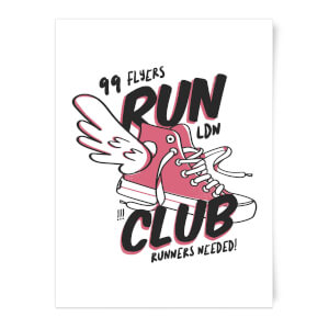 RUN CLUB 99 Art Print