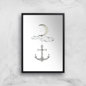Anchor Your Dreams Art Print