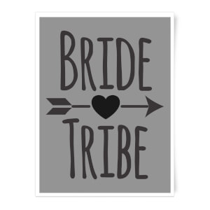 Bride Tribe Art Print