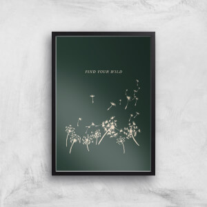 Find Your Wild Art Print