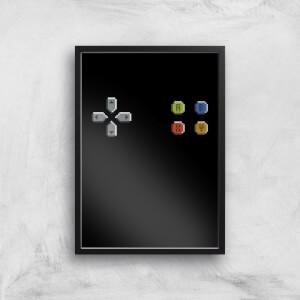 Pad Gaming Art Print