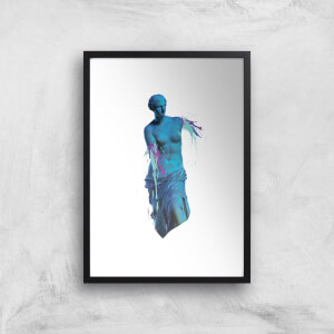 Ancient Accident Art Print