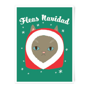 Fleas Navidad Art Print