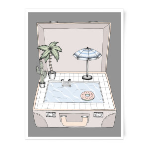 Pool To Go Art Print