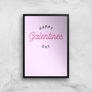 Happy Galentine's Day Art Print