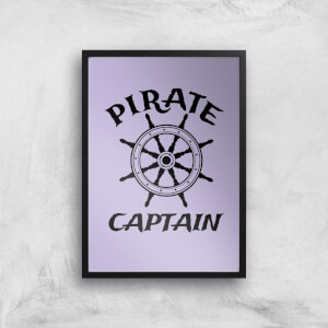 Pirate Captain Art Print