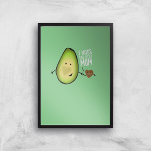 I Hass The Best Mom Art Print