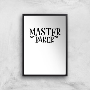 Master Baker Art Print