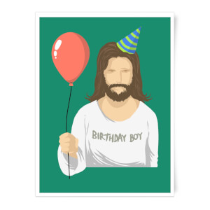 Birthday Boy Art Print