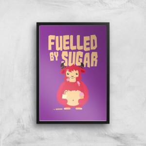 Fuelled By Sugar Art Print
