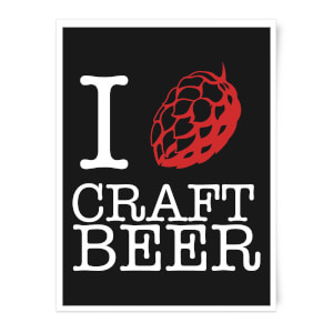 I Hop Craft Beer Art Print