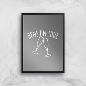 Hen's On Tour Art Print