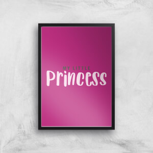 My Little Princess Art Print