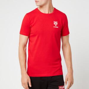 Plein Sport Men's Original Round Neck T-Shirt - Red