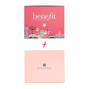 GLOSSYBOX Beauty Box Flex Abo + benefit Special Edition