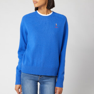 Polo Ralph Lauren Women's Long Sleeve Jumper - Maidstone Blue