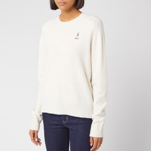 Polo Ralph Lauren Women's Long Sleeve Jumper - Cream