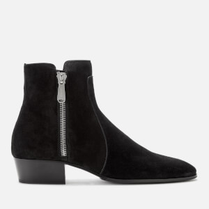 Balmain Men's Mike Suede Boots - Black